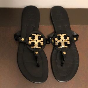Tory Burch size 8.5 Miller sandal. Good condition!